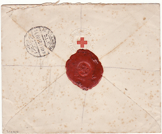 [14746]  EGYPT[RED CROSS CONVALESCENT HOSPITAL MONTAZAH/REGISTERED/INTERNAL]  1916(Apr)