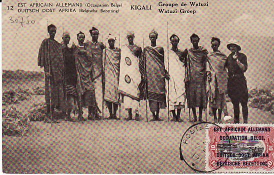 [12653]  GERMAN EAST AFRICA [WW1 BELGIAN FORCES EAST AFRICAN CAMPAIGN]  1918(Nov 7)