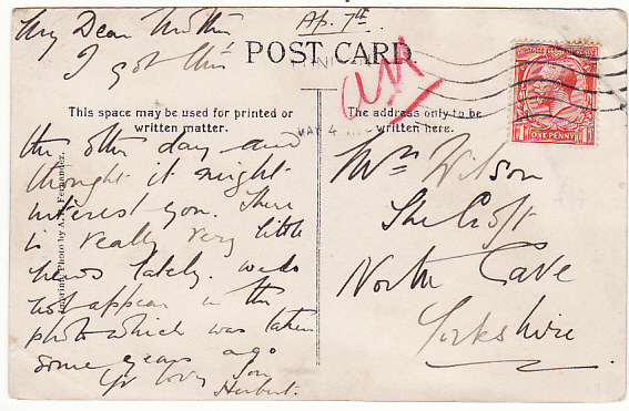 [13177]  MUSCAT-GB [WW1 NAVAL MAIL]  1916(May)