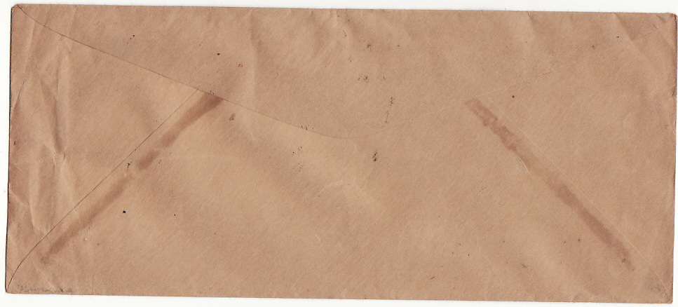 [15722]  CHINA-USA [UNRRA/AIRMAIL/COMMUNIST CONQUEST & POST WAR INFLATION]  1947(Mar 20] Plain longer envelope by Airmail to Baltimore endorsed from member UNRRA [United Nations Refugee Relief Administration] in Shanghai bearing Sun Yat-sen $500 on 3c, $3000 (2)
