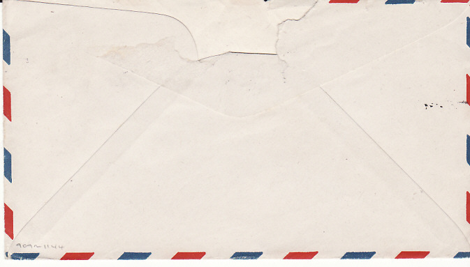 [14173]  NEW CALEDONIA - USA...WW2 US FORCES ILLUSTRATED PATRIOTC ENVELOPE...  1944 (Feb 23)