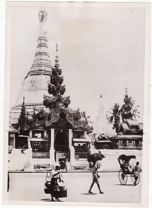 [18377]  BURMA. 1942 OFFICIAL PRESS PHOTOGRAPH taken before JAPANESE OCCUPATION...  1942 (Jan 22)