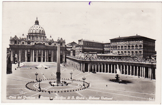 [18480]  VATICAN -BULGARIA... WW2 CENSORED POSTCARD …  1941 (Nov 8)