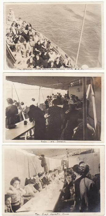 "[19384]  GREAT BRITAIN… HMS ""PENELOPE"" in SPANISH CIVIL WAR taking Aboard CHILEAN REFUGEES…  1937 (Sep 19)"