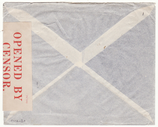 [16110]  NETHERLANDS-USA...AIRMAIL & CENSORED in BERMUDA..  1940(Feb 17)
