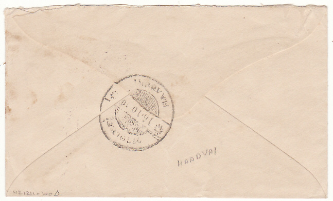 [16062]  THAILAND - MALAYA….WW2 CENSORED from HUEY YOD STATION….  1940 (Oct)