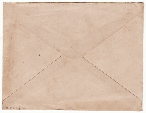 [16481]  THAILAND…WW2 RAMA VIII INTERNAL CENSORED mail LOPBURI to BANGKOK.  1942(Jan 17)