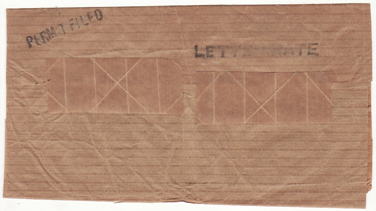 [19288]  BERMUDA - USA...WW2-CENSORED WRAPPER..  1944 (Jan 10)