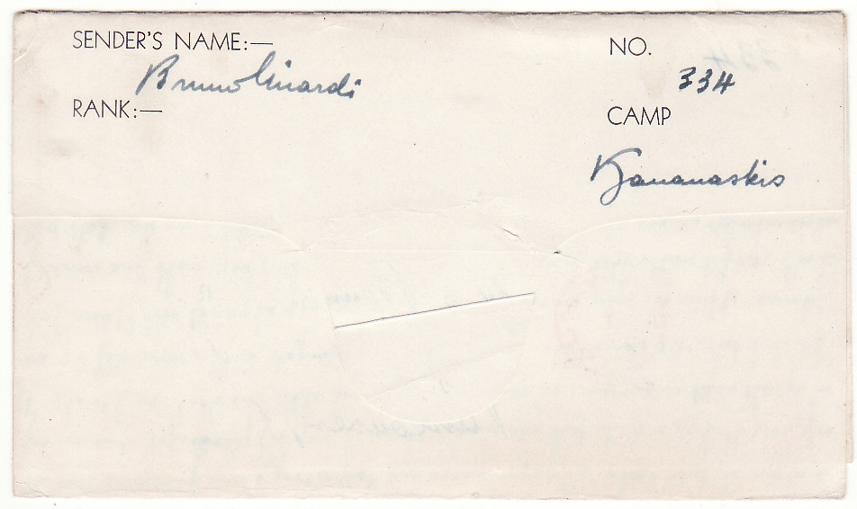 [19236]  CANADA…WW2 POW KANANASKIS INTERNMENT CAMP .....  1941 (Jun 3)