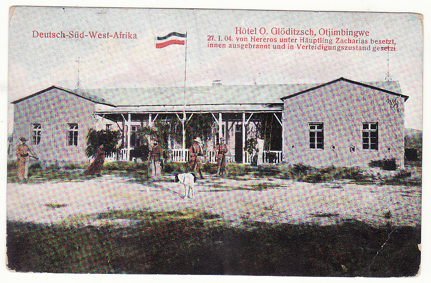 [19861]  GERMAN SOUTH WEST AFRICA - GERMANY … FIELD HOSPITAL No 6 HERERO WARS 1903 - 1907 ...  1906 (May 4)
