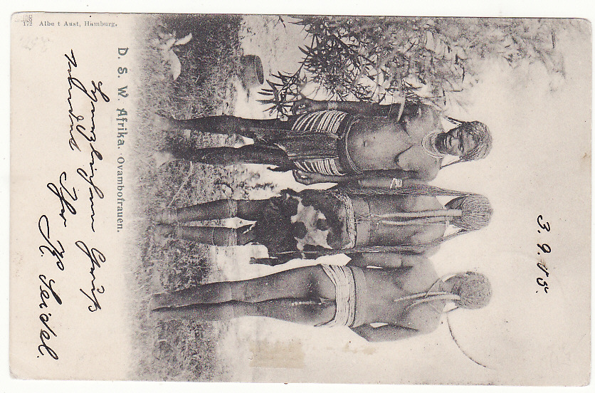 [19865]  GERMAN SOUTH WEST AFRICA - GERMANY … HERERO WARS 1903 - 1907 ...  1905 (Sep 3)