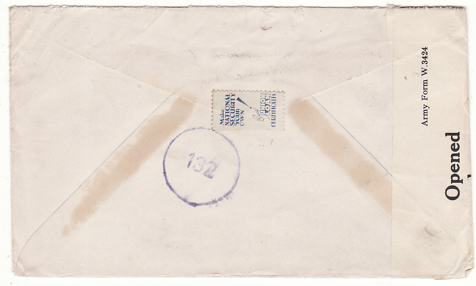 [20185]  ITALY - SOUTH AFRICA…WW2 SOUTH AFRICAN FORCES AIRMAIL…  1945 (Feb 22)