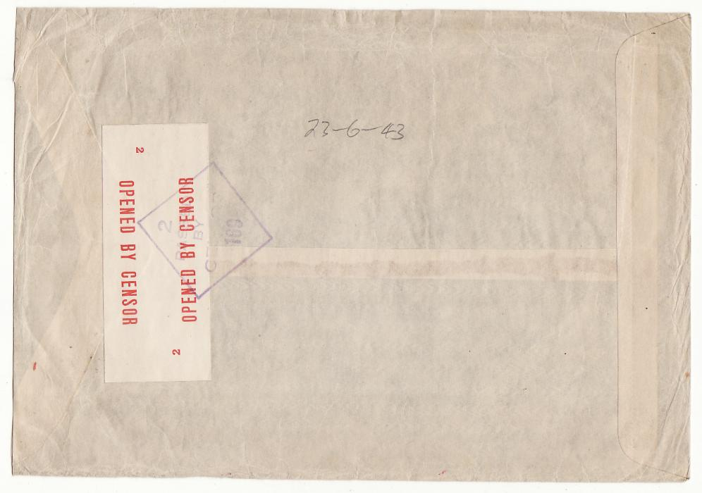 [20216] AUSTRALIA - SWITZERLAND…WW2 A.R.C.S. MESSAGE SERVICE to RED CROSS, GENEVA at 7/5d RATE